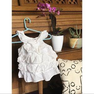 ♥️💵 3 FOR $10!!! Cream Baby Gap dress/shirt!